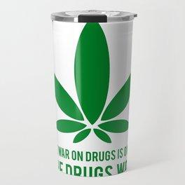 The Drugs Won (1) Travel Mug