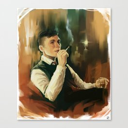 Tommy Shelby * Peaky Blinders Canvas Print