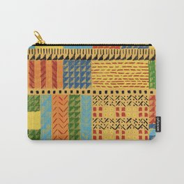 Gunta-inspired weaving Carry-All Pouch