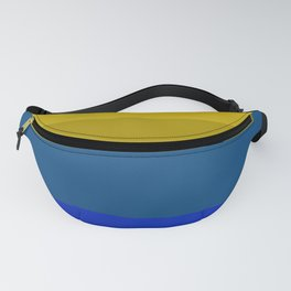 Blues and golds Fanny Pack