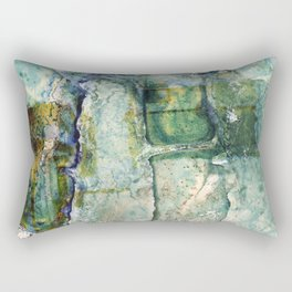 Water Damaged Photo No. 6 Rectangular Pillow