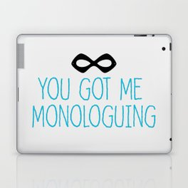 Syndrome Monologuing Laptop & iPad Skin