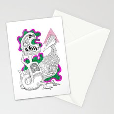 Aye Captain Stationery Cards