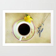 Coffee Time 3 Art Print