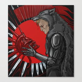 legacy (red) Canvas Print