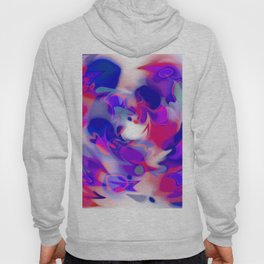swirl of birds, abstract 1.2 Hoody