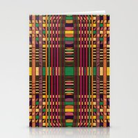 grid Stationery Cards featuring Grid by Glanoramay