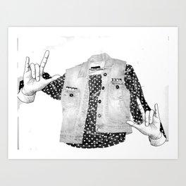 Ghostionable Art Print
