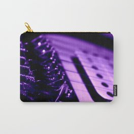 Guitar in Purple fine art photography Carry-All Pouch