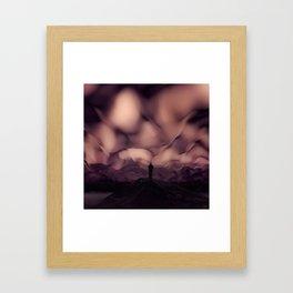 #Versus #Sky - 20151113 Framed Art Print