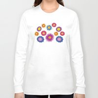 ukraine Long Sleeve T-shirts featuring Sunny Ukraine by rusanovska