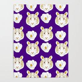 LSU purple Poster