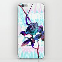 birdy iPhone & iPod Skins featuring Birdy by Cata