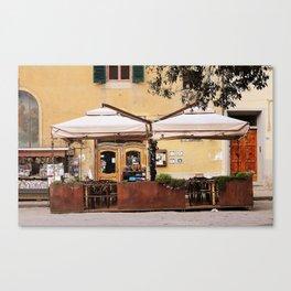 Piazza Santo Spirito  Canvas Print