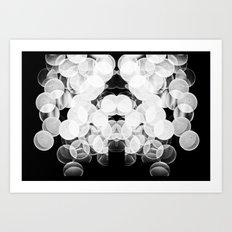 Bokeh Symmetry  Art Print