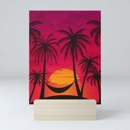 Summer Paradise Mini Art Print