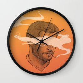 Smokin' Jay Wall Clock
