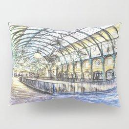 Covent Garden Sketch Pillow Sham