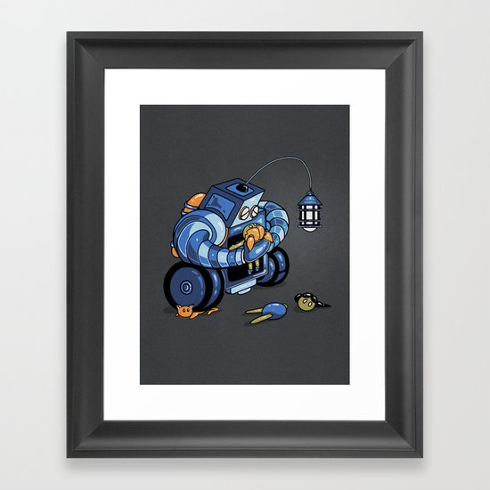 Lenny Framed Art Print
