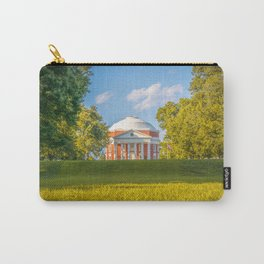 Virginia Charlottesville Lawn Print Carry-All Pouch