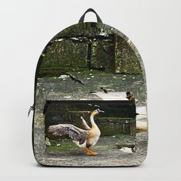 Goose with open Wings Backpack