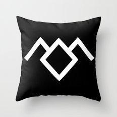 Owl - Twin Peaks Throw Pillow
