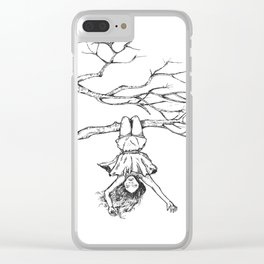 Bloomers Clear iPhone Case