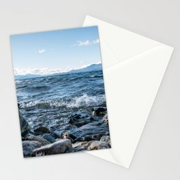 Lake in the Mountains Stationery Cards