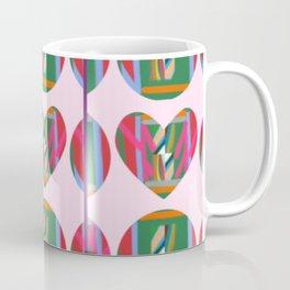 Hearts within Human Circles Coffee Mug