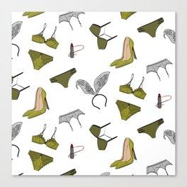 Underwear collection Canvas Print