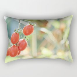 Bunch of ripe tomatoes Rectangular Pillow