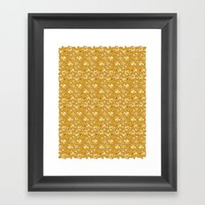 Rose pattern... Framed Art Print