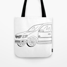 My Friends' Cars - Vibe Tote Bag