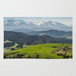 Tatry Poland Landscape Rug
