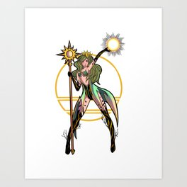 Summer Queen Art Print