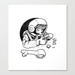 Laika the Astronaut Canvas Print