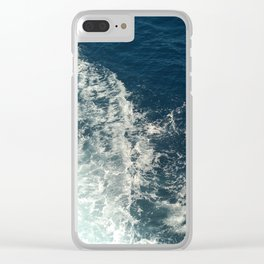 Sea Trails 2 Clear iPhone Case