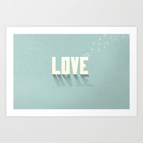 Love/Hate: Part 2 Art Print