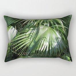 Fan Palms Rectangular Pillow