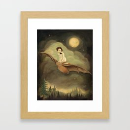 Flying By Night Framed Art Print