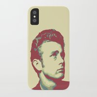 james franco iPhone & iPod Cases featuring James by victorygarlic