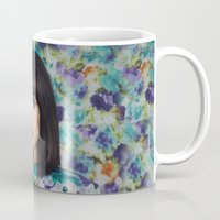 camouflage Mugs featuring Camouflage  by Irene Rudnyk