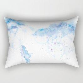 Softer with Rain Rectangular Pillow