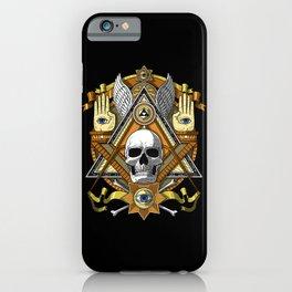 Masonic Skull iPhone Case