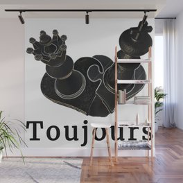 Toujours Wall Mural