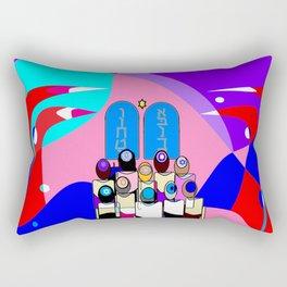 A Bat Mitzvah and Red Sea Rectangular Pillow