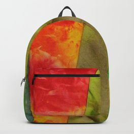 More Wyoming hand dyed fabric Backpack