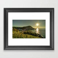 Ilfracombe Refraction Framed Art Print