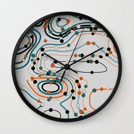 dots/lines4 Wall Clock