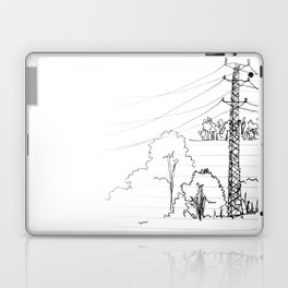 view from train Laptop & iPad Skin